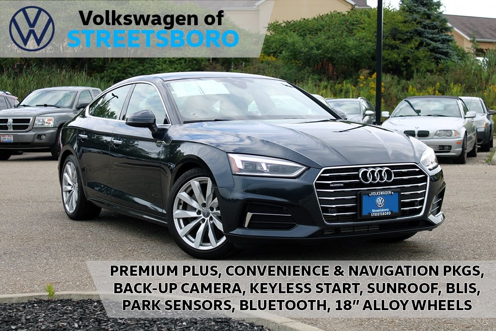 Pre-Owned 2018 Audi A5 2.0T Premium Plus quattro 4D Hatchback